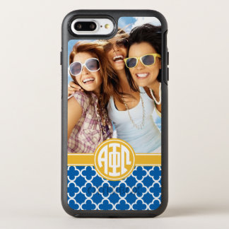 Alpha Phi Omega | Custom Monogram Pattern OtterBox Symmetry iPhone 8 Plus/7 Plus Case