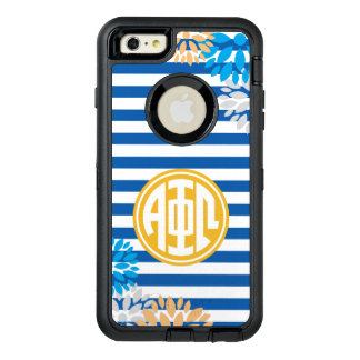 Alpha Phi Omega | Monogram Stripe Pattern OtterBox iPhone 6/6s Plus Case