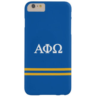 Alpha Phi Omega | Sport Stripe Barely There iPhone 6 Plus Case
