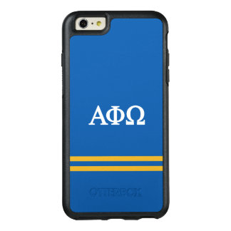 Alpha Phi Omega | Sport Stripe OtterBox iPhone 6/6s Plus Case