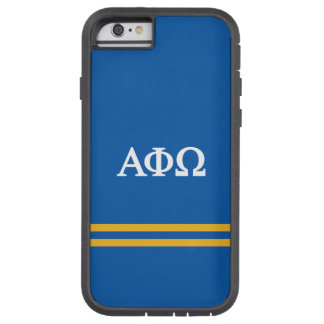 Alpha Phi Omega | Sport Stripe Tough Xtreme iPhone 6 Case