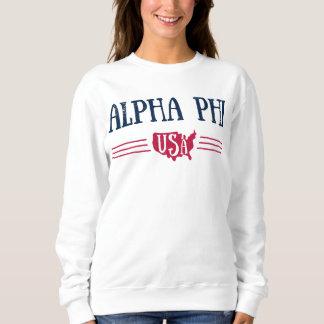 Alpha Phi USA Sweatshirt