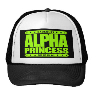 ALPHA PRINCESS - Independent Dragon Slayer, Lime Trucker Hat