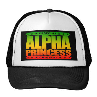 ALPHA PRINCESS - Independent Dragon Slayer, Rasta Trucker Hat