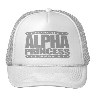 ALPHA PRINCESS - Independent Dragon Slayer, Silver Trucker Hat