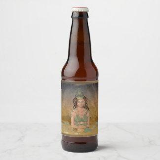 Alpha Queen (Blank) Beer Bottle Label