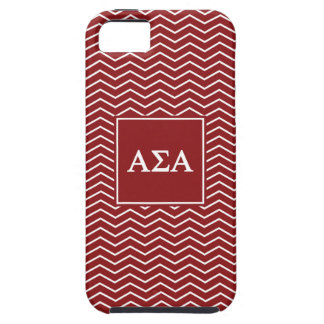 Alpha Sigma Alpha | Chevron Pattern Case For The iPhone 5