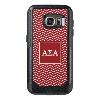 Alpha Sigma Alpha | Chevron Pattern OtterBox Samsung Galaxy S7 Case