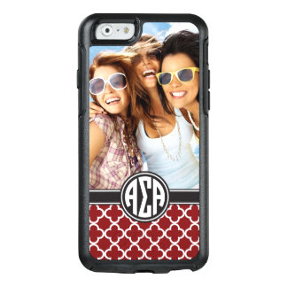 Alpha Sigma Alpha | Monogram and Photo OtterBox iPhone 6/6s Case