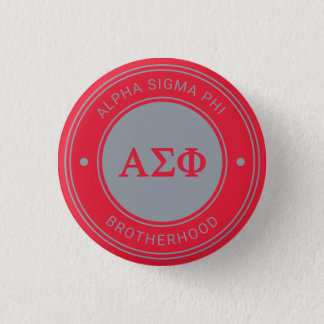 Alpha Sigma Phi | Badge 1 Inch Round Button