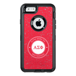 Alpha Sigma Phi | Badge OtterBox Defender iPhone Case