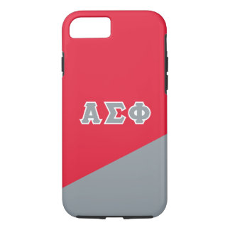 Alpha Sigma Phi | Greek Letters iPhone 7 Case