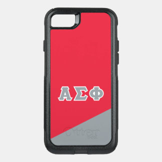 Alpha Sigma Phi | Greek Letters OtterBox Commuter iPhone 7 Case