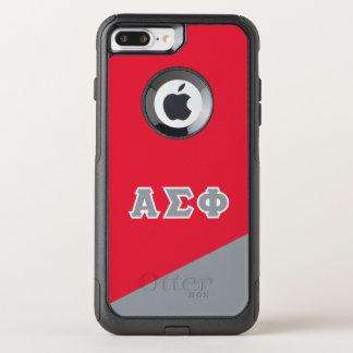 Alpha Sigma Phi | Greek Letters OtterBox Commuter iPhone 8 Plus/7 Plus Case