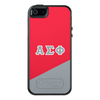 Alpha Sigma Phi | Greek Letters OtterBox iPhone 5/5s/SE Case
