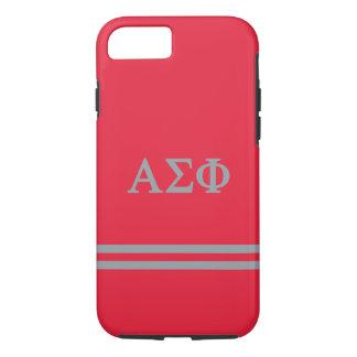 Alpha Sigma Phi | Sport Stripe iPhone 8/7 Case