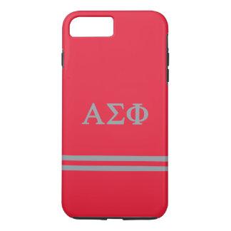 Alpha Sigma Phi | Sport Stripe iPhone 8 Plus/7 Plus Case
