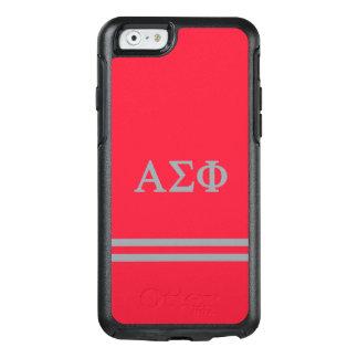 Alpha Sigma Phi | Sport Stripe OtterBox iPhone 6/6s Case