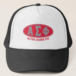 Alpha Sigma Phi | Vintage Trucker Hat