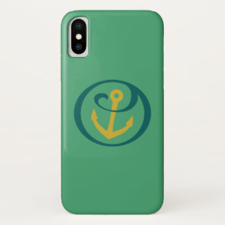 Alpha Sigma Tau Anchor Mark iPhone X Case