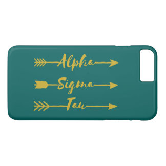 Alpha Sigma Tau Arrow Case-Mate iPhone Case