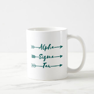 Alpha Sigma Tau Arrow Coffee Mug