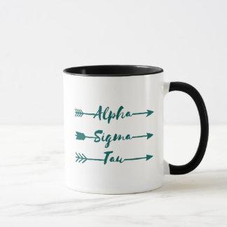 Alpha Sigma Tau Arrow Mug