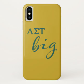 Alpha Sigma Tau Big Script Case-Mate iPhone Case