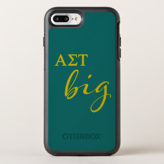 Alpha Sigma Tau Big Script OtterBox Symmetry iPhone 8 Plus/7 Plus Case