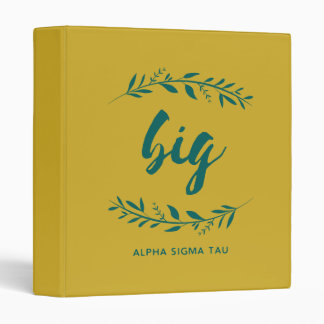 Alpha Sigma Tau Big Wreath Binder