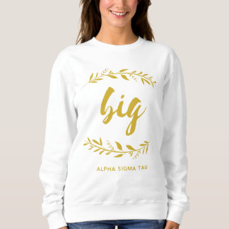 Alpha Sigma Tau Big Wreath Sweatshirt