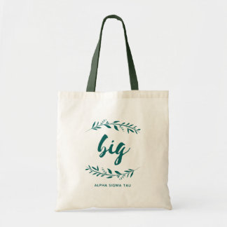 Alpha Sigma Tau Big Wreath Tote Bag