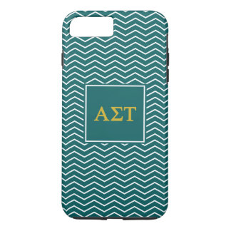 Alpha Sigma Tau | Chevron Pattern iPhone 8 Plus/7 Plus Case