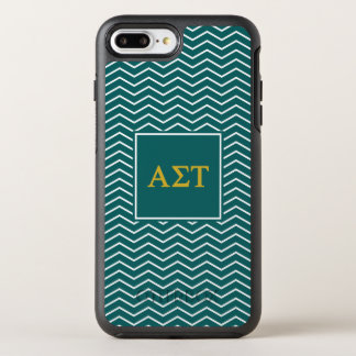 Alpha Sigma Tau | Chevron Pattern OtterBox Symmetry iPhone 8 Plus/7 Plus Case