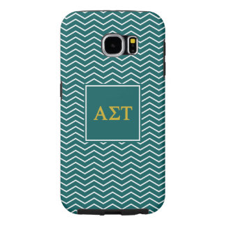 Alpha Sigma Tau | Chevron Pattern Samsung Galaxy S6 Case