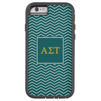 Alpha Sigma Tau | Chevron Pattern Tough Xtreme iPhone 6 Case
