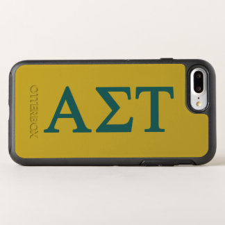 Alpha Sigma Tau Lil Big Logo OtterBox Symmetry iPhone 8 Plus/7 Plus Case