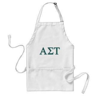 Alpha Sigma Tau Lil Big Logo Standard Apron