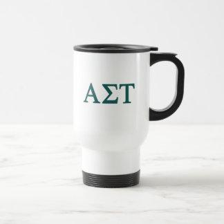 Alpha Sigma Tau Lil Big Logo Travel Mug