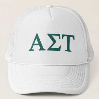 Alpha Sigma Tau Lil Big Logo Trucker Hat