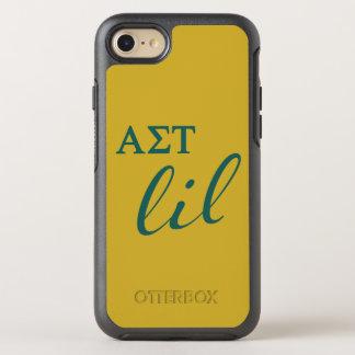 Alpha Sigma Tau Lil Script OtterBox Symmetry iPhone 8/7 Case
