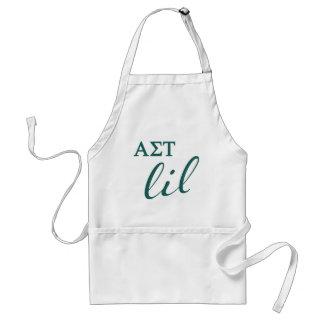 Alpha Sigma Tau Lil Script Standard Apron