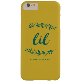 Alpha Sigma Tau Lil Wreath Barely There iPhone 6 Plus Case