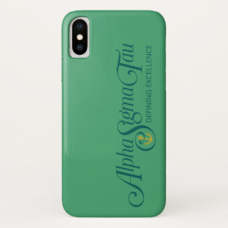 Alpha Sigma Tau Logo 2 Case-Mate iPhone Case