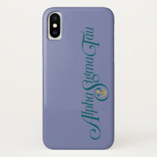 Alpha Sigma Tau Logo No Tagline Case-Mate iPhone Case