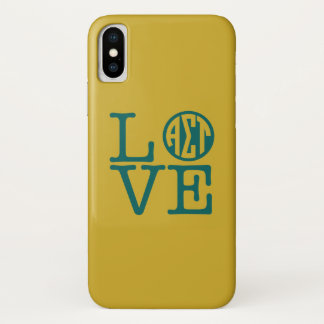 Alpha Sigma Tau Love Case-Mate iPhone Case