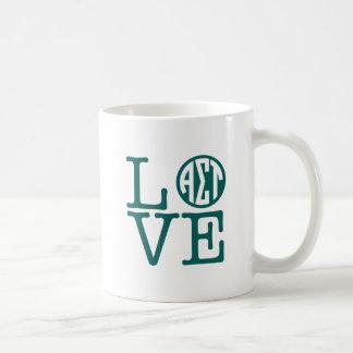Alpha Sigma Tau Love Coffee Mug