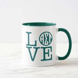 Alpha Sigma Tau Love Mug