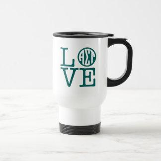 Alpha Sigma Tau Love Travel Mug