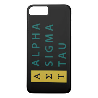 Alpha Sigma Tau Stacked iPhone 8 Plus/7 Plus Case